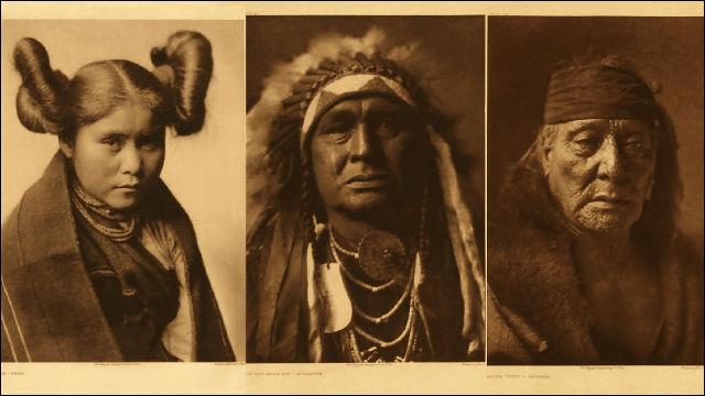 むちゃくちゃ味のあるアメリカ・インディアンのアパッチ族の人々の ...