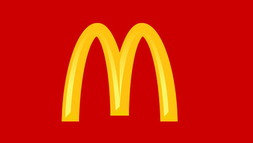 How To Draw The Mcdonald S Logo With
