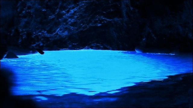 アドリア海のコルジュラ島
