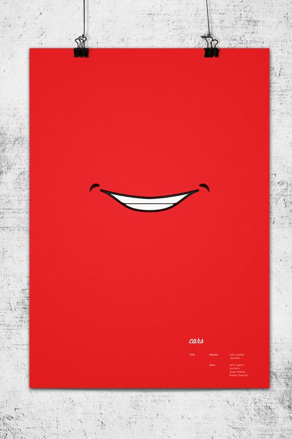ピクサー映画を可能な限り単純化したポスター10枚