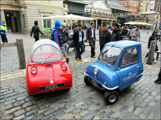 世界最小の自動車「Peel P50」が電動になって限定再生産 - DNA
