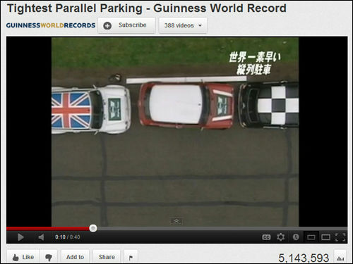 Youtube Parallel Parking Smart Car