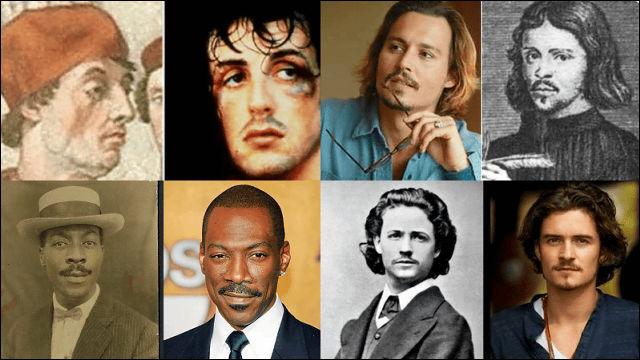 遠い過去の時代からやって来たとしか思えない有名人たちの証拠写真23枚