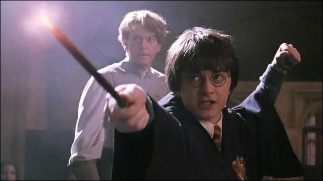 ハリーポッターの1シーン