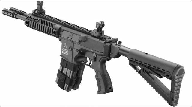 イスラエル企業、水平二連銃身のアサルトライフル「Gilboa Snake」を開発