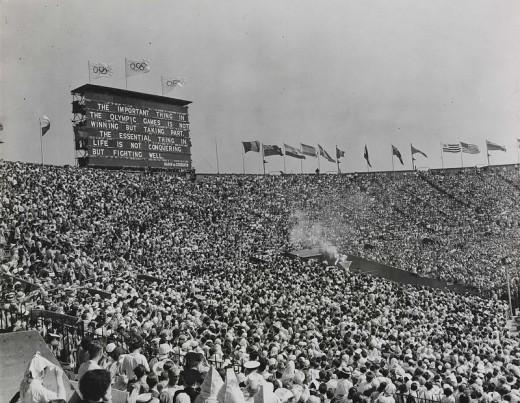 どう変わった?1948年に開催された前回のロンドン・オリンピックの開会式の様子