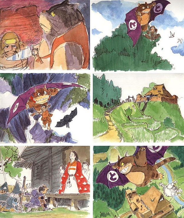 もののけ姫のイラスト