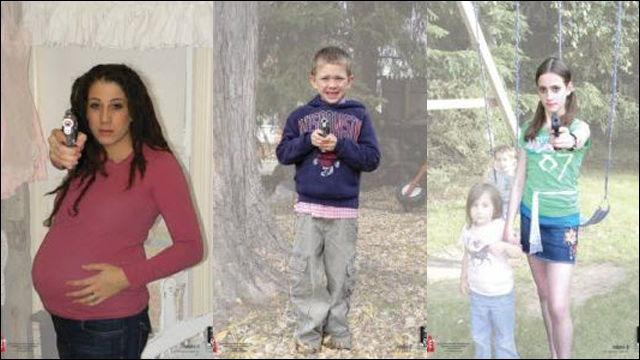 妊婦や子どもをためらいなく撃つための訓練用ターゲットをアメリカ国家安全保障局が購入か