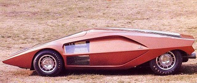 De Tomaso Mangusta >> 独創的なスタイルが魅力的、1960〜1970年代のコンセプトカーいろいろ - DNA