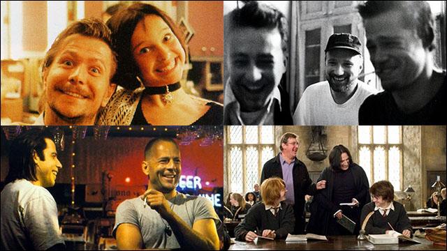 ワルも殺し屋もみんな笑顔、映画撮影の合間に談笑している俳優たちの写真いろいろ