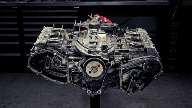 ポルシェ・911・カレラ・3 2のエンジンをバラバラに解体するタイムラプス動画 Dna