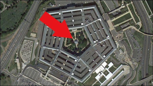 旧ソ連も目をつけた、アメリカ合衆国国防総省ペンタゴンの中庭にある「ある建物」の意外?な正体
