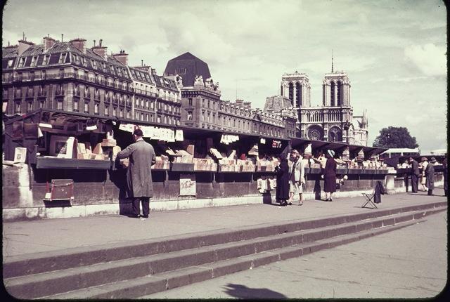第二次世界大戦前夜、1939年7月に撮影されたパリの貴重なカラー写真 ...