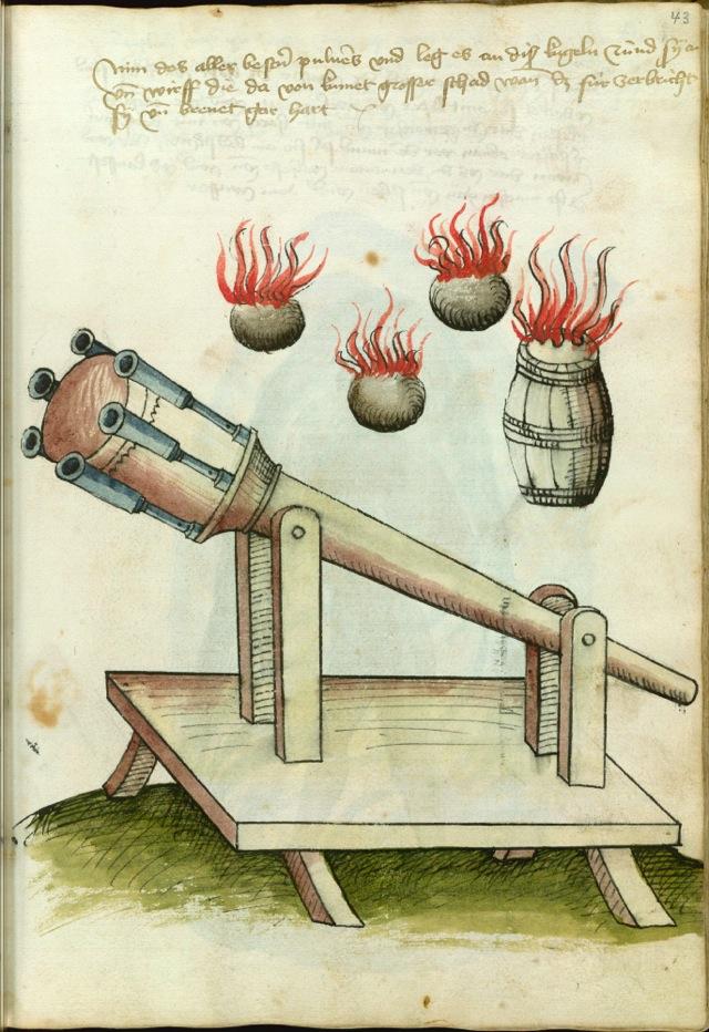 1459年頃にドイツの剣術家がデザ...