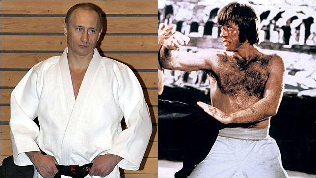 ニューヨーク・ポスト紙「プーチン大統領vsチャック・ノリス」なる記事を掲載 - DNA