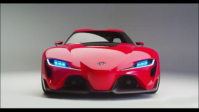 トヨタ渾身のスーパーカー・コンセプトモデル「ft 1」が公開 Dna