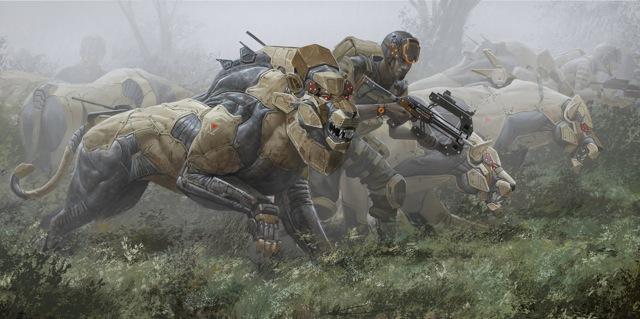 Deviantart Robot Animals: アフリカ・サファリの違法な密猟を阻止するべく進化したメカニカルな大型動物のイラストシリーズ「Big Five」