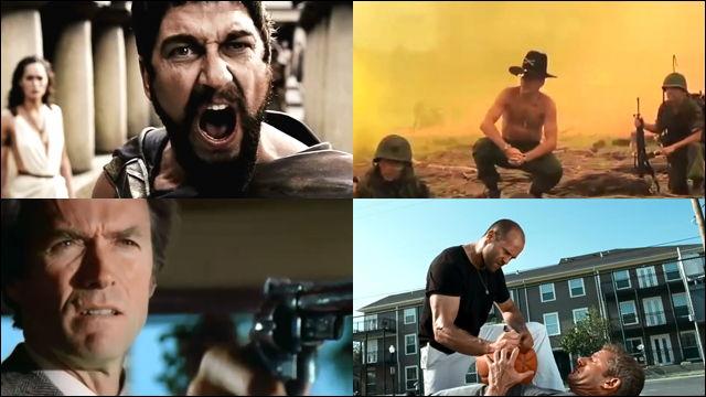 Best Action Movie Quotes: 「これがスパルタ流だ!!!」からはじまるアクション映画の偉大なキメ台詞100選まとめ動画