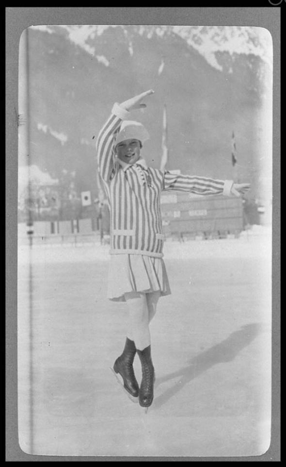 1924年に開催された第1回冬季オ...