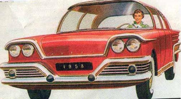 1950年代のアトミック・エイジに計画された5台の原子力駆動コンセプトカー