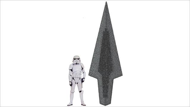 約3.8メートルの超巨大なレゴ製「スター・デストロイヤー」が出資募集中