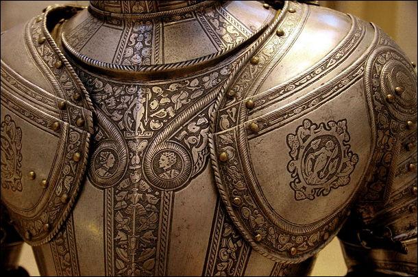 イタリアの鎧です。