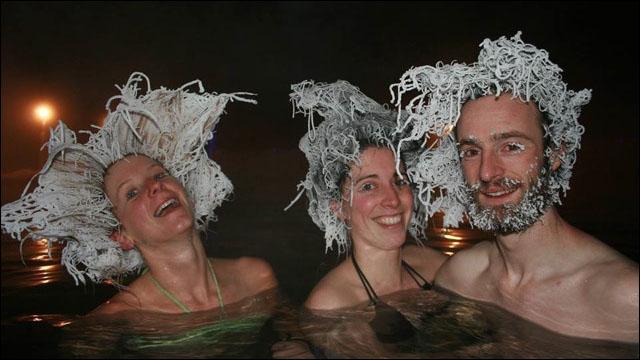 氷点下30℃のカナダ・タキニ温泉...