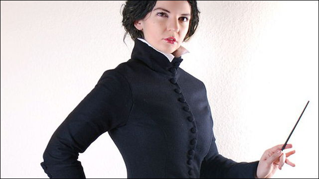 ハリー・ポッターシリーズの「スネイプ先生の服の女性向け