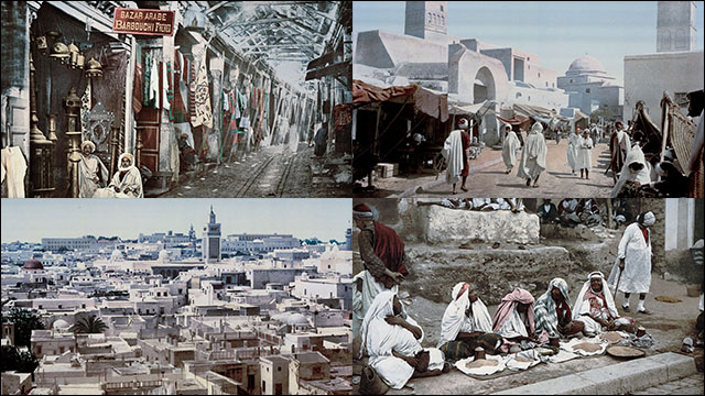 120年近く昔の北アフリカ・チュ...