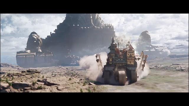 巨大移動都市が地球を徘徊している数千年後の世界を描く P・ジャクソン ...