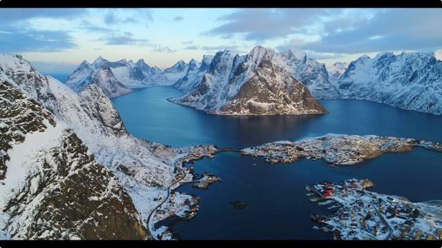 独特の雰囲気が魅力的 ノルウェー北部の超美麗な4Kドローン映像「Northern Norway」