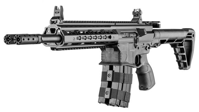銃身2本で火力も倍なアサルトラ...
